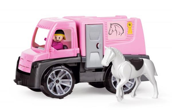 Dětské nákladní auto na přepravu koní LENA TRUXX 26 cm