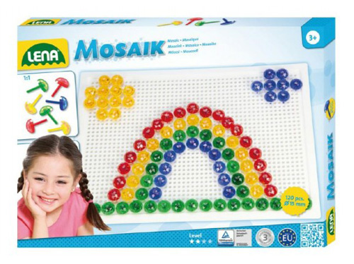 Dětská mozaika LENA Krystal 120ks