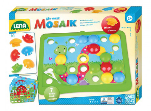 Dětská mozaika LENA Příroda 36ks