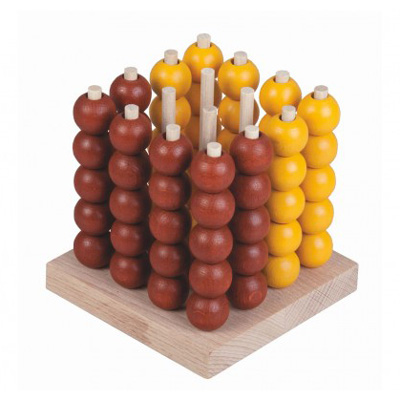 Hra stolní DETOA Piškvorky dřevěné