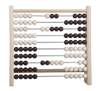 Počítadlo kuličkové DETOA dřevěné/kovové