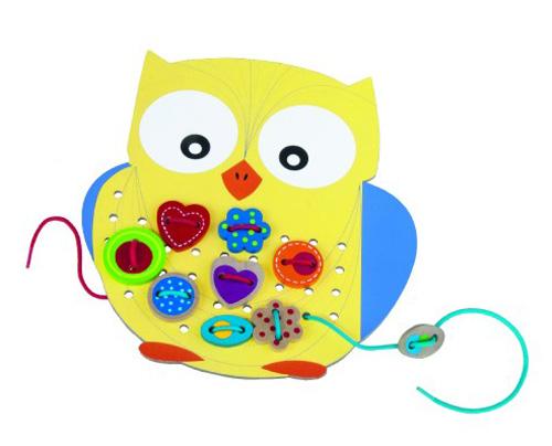 Dětská kreativní hra DETOA Vyšívání pro nejmenší