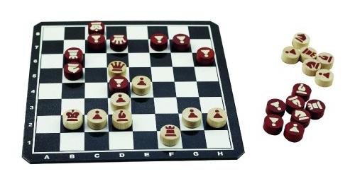 Hra stolní DETOA Šachy magnetické dřevěné