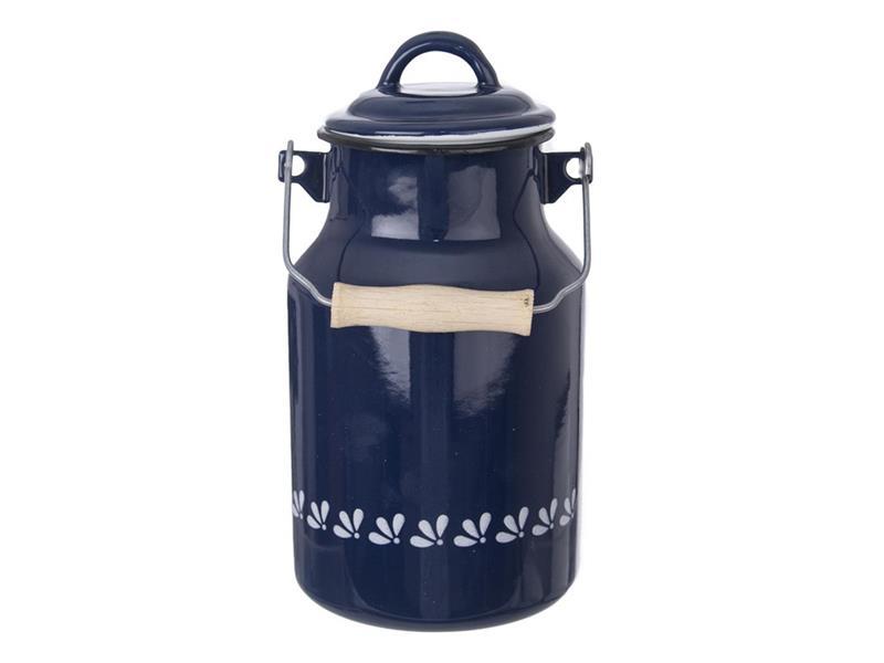 Konvice na mléko ORION modrotisk smalt 2l