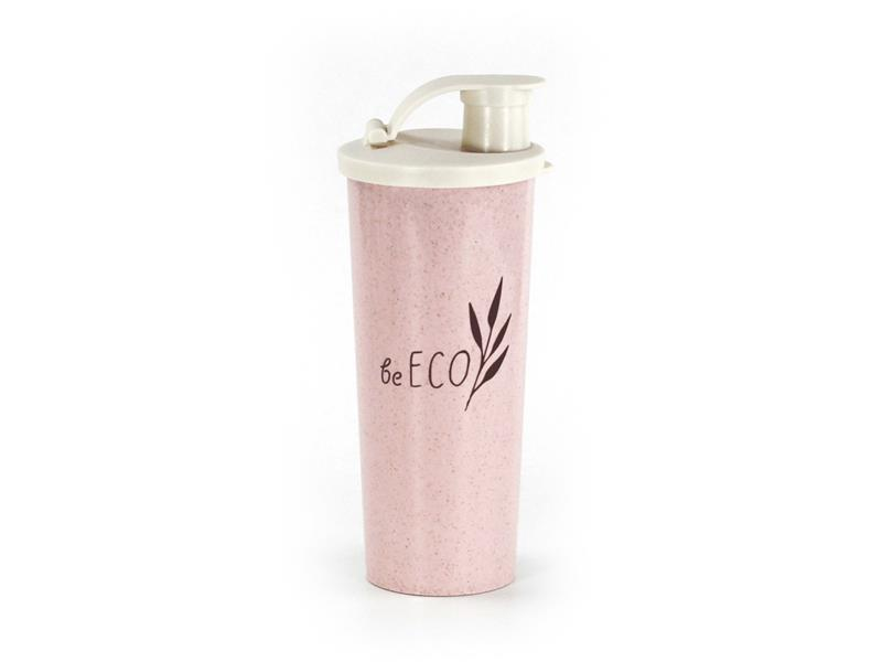 Šejkr G21 beECO Fitness 450ml růžový