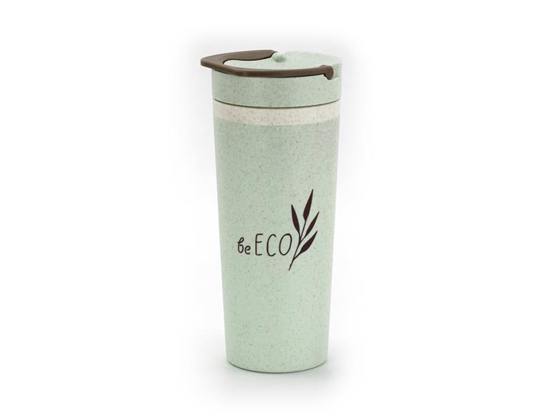 Termohrnek G21 beECO Americano 450ml zelený