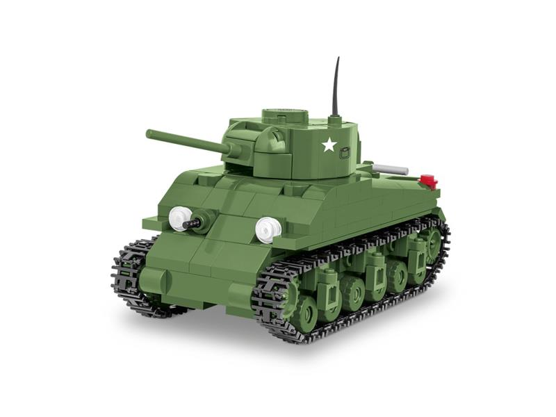 Stavebnice COBI 3063 WOT Sherman M4, 1:48, 300 k