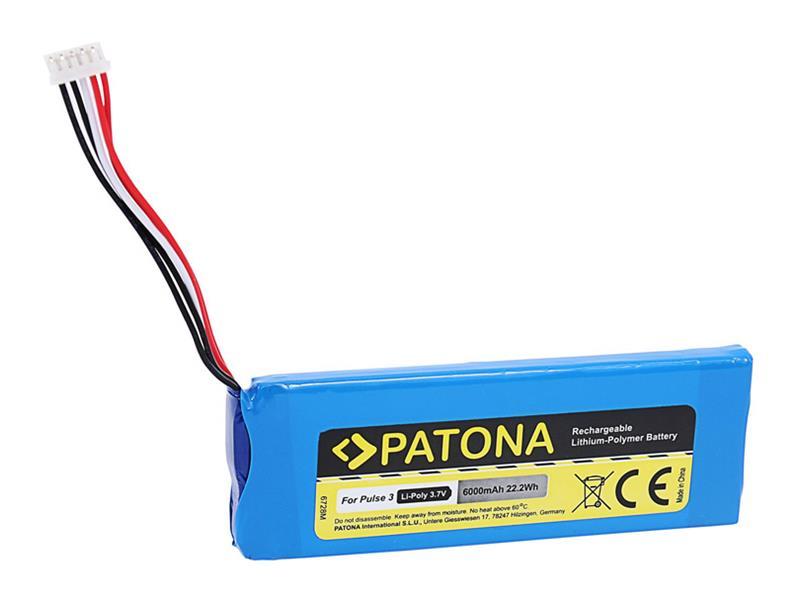 Baterie JBL Pulse 3 6000mAh 3.7V Li-Pol PATONA PT6728