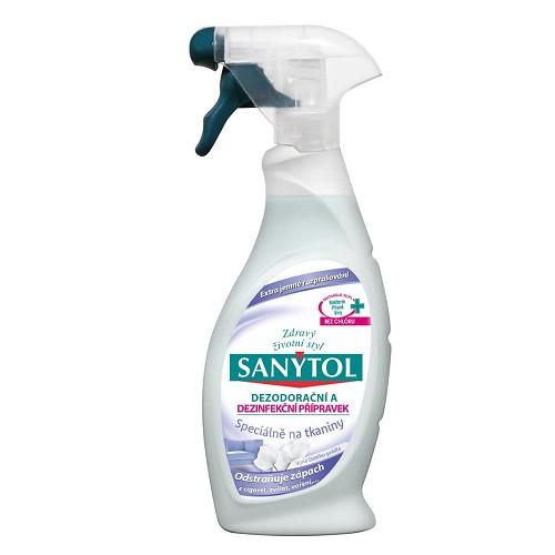 Dezodorační a dezinfekční přípravek na tkaniny SANYTOL 500ml