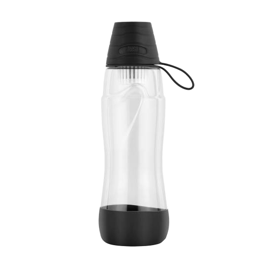 Láhev na vodu TEESA PURE WATER BLACK TSA0120-BC