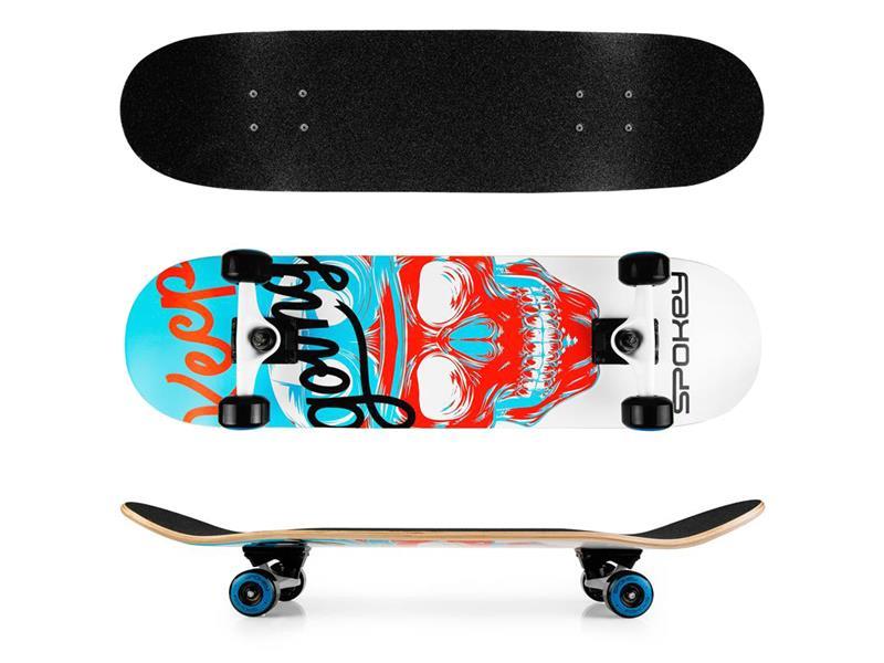 Skateboard SPOKEY SKALLE
