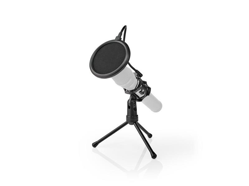 Stojan na mikrofon NEDIS MPST00BK stolní