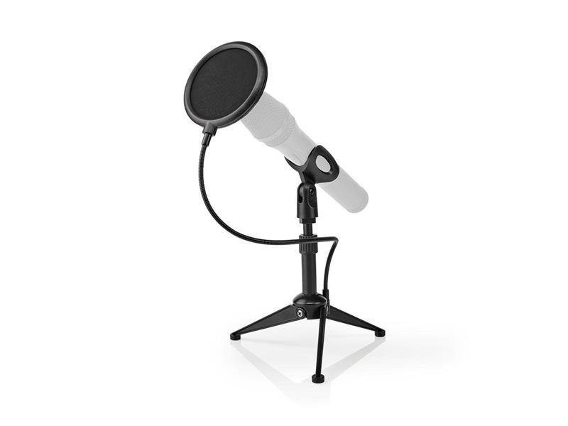 Stojan na mikrofon NEDIS MPST01BK stolní
