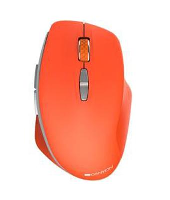 Myš bezdrátová CANYON MW-21R RED