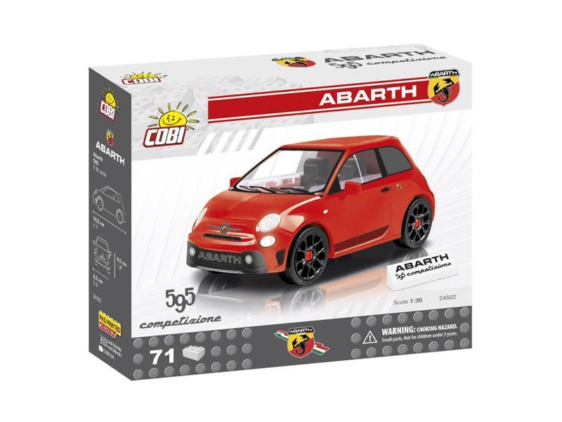 Stavebnice COBI 24502 Fiat Abarth 595, 1:35, 71 k