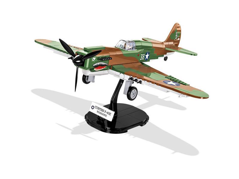 Stavebnice COBI 5706 II WW Curtiss P-40E Warhawk, 1:35, 272 k, 1 f