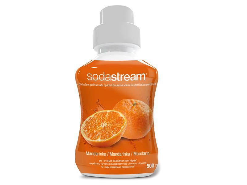 Sirup SodaStream 500ml Mandarinka