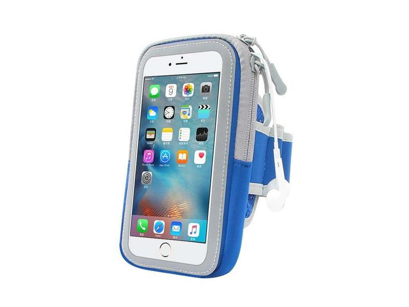 "Pouzdro na mobil 6.0"" FOREVER ZIPPER BLUE"