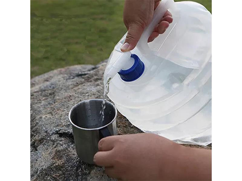 Kanystr na vodu 4L 8137 skládací 5l