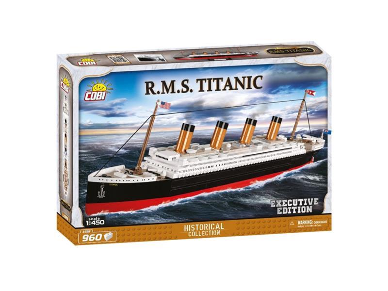 Stavebnice COBI 1928 Titanic 1:450 executive edition, 960 k