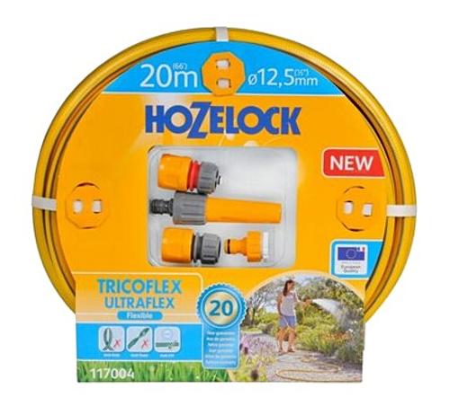 Hadice zahradní HOZELOCK Ultraflex Hose Starter Set 20m/12.5mm 117004