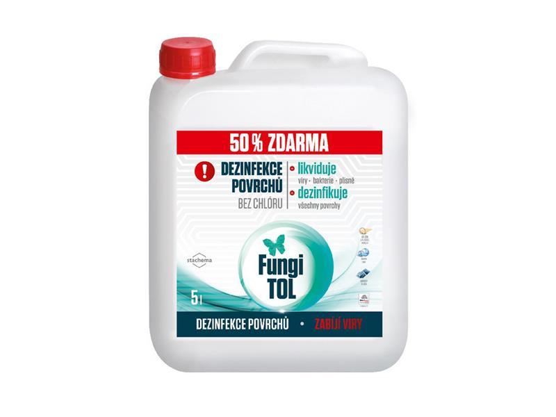 Dezinfekce povrchů STACHEMA FungiTOL 3L + 50% zdarma