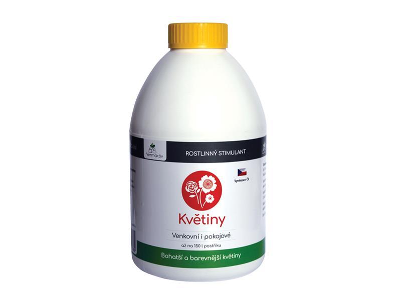 Hnojivo kapalné VERMAKTIV Stimul Květiny 1000 ml