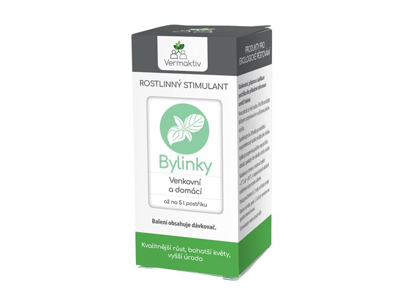 Hnojivo kapalné VERMAKTIV Stimul Bylinky 35 ml