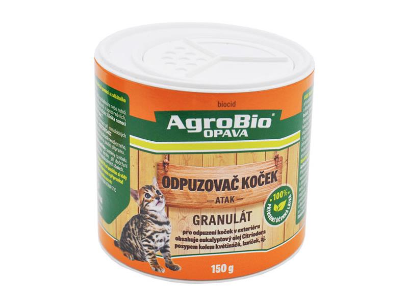 Odpuzovač koček AgroBio Atak 150g