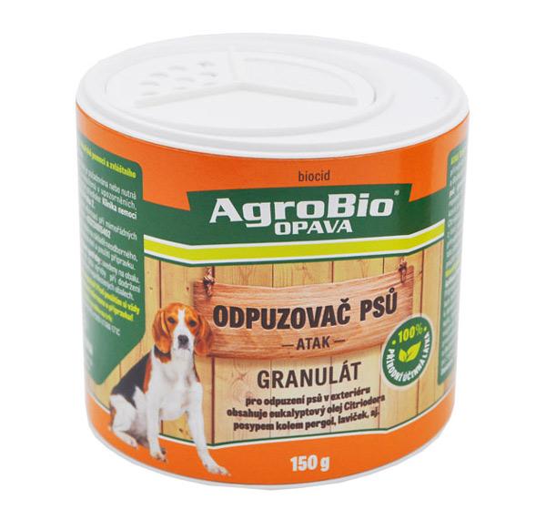 Odpuzovač psů AgroBio Atak 150g