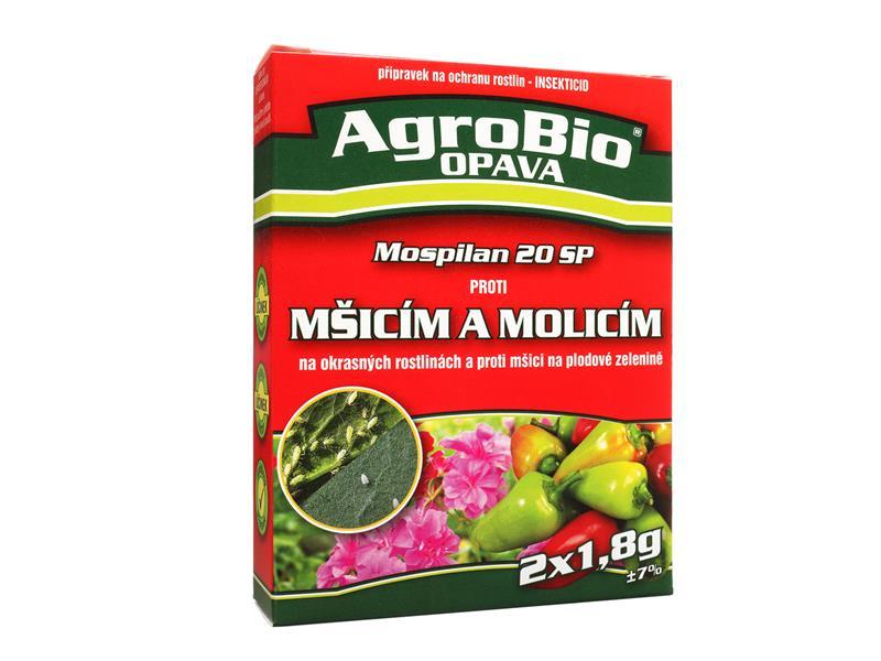 Přípravek proti mšicím a molicím AgroBio Mospilan 2x1.8g