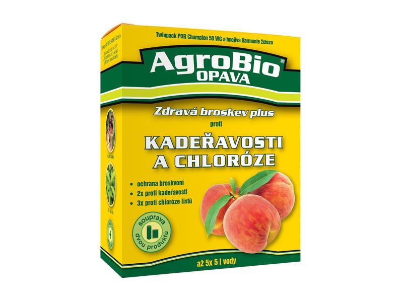 Přípravek proti kadeřavosti a chloróze AgroBio Zdravá broskev Plus