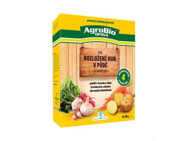 Přípravek pro rozložení hub v půdě AgroBio Clonoplus 10g