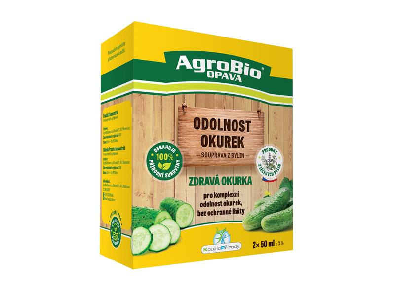 Přípravek pro odolnost okurek AgroBio Zdravá okurka