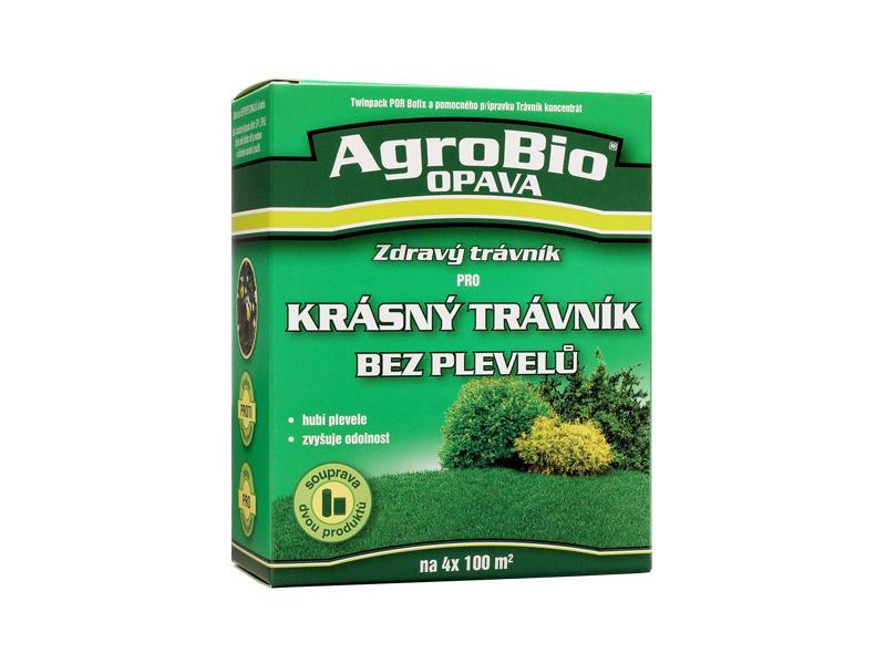 Přípravek k hubení dvouděložných plevelů AgroBio Zdravý trávník
