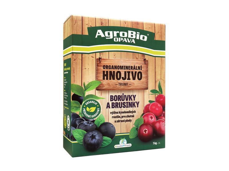 Hnojivo organominerální AgroBio Trumf Borůvky a brusinky 1kg