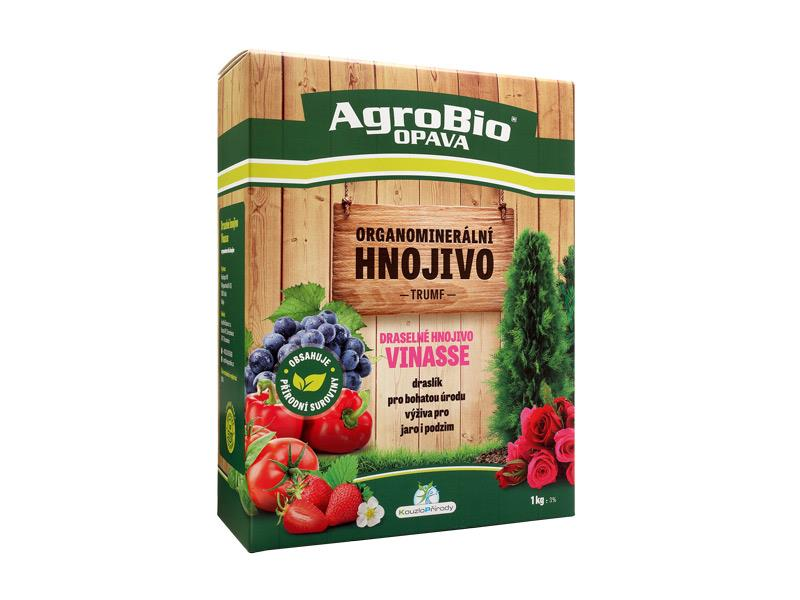 Hnojivo organominerální AgroBio Trumf Vinasse pro plod a květ 1kg