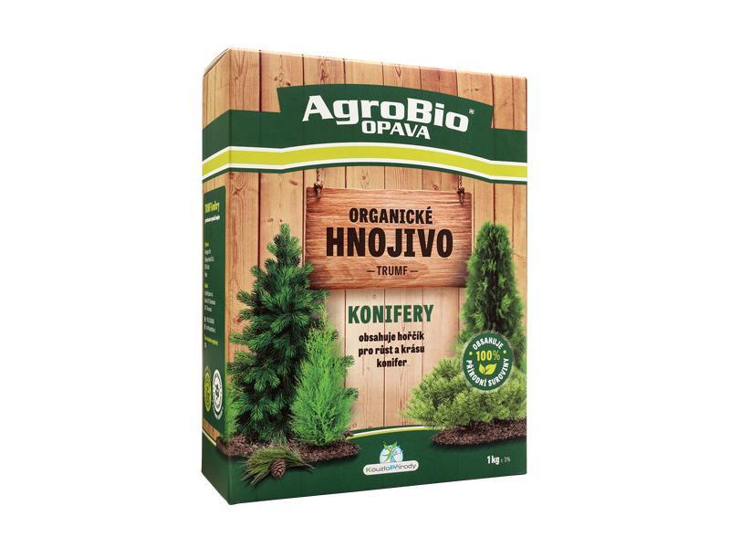 Hnojivo organické AgroBio Trumf Konifery 1kg