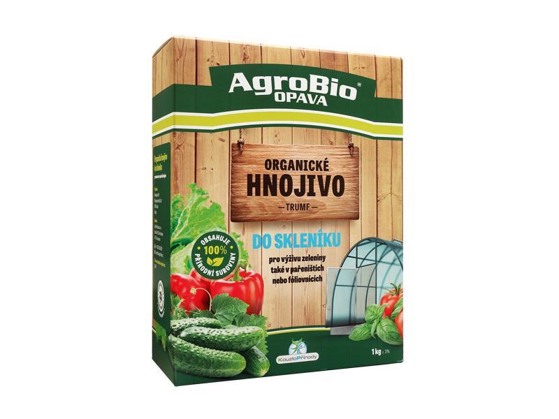 Hnojivo organické AgroBio Trumf Do skleníku 1kg
