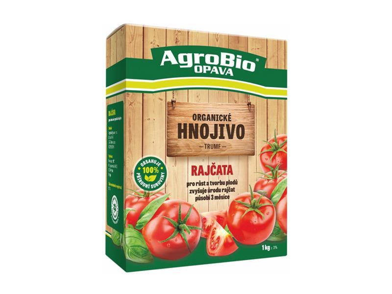 Hnojivo organické AgroBio Trumf Rajčata 1kg