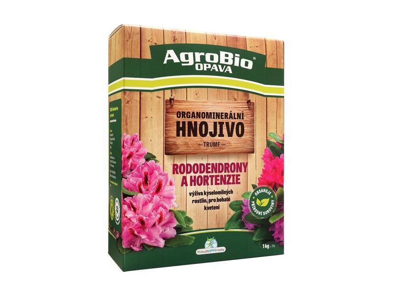 Hnojivo organominerální AgroBio Trumf pro rododendrony a hortenzie 1kg