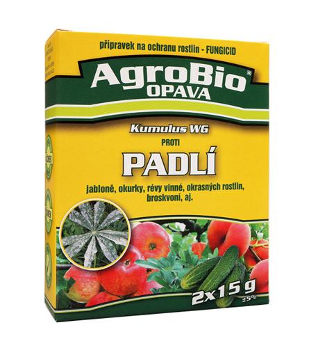 Přípravek proti padlí AgroBIo Kumulus WG 2x15g
