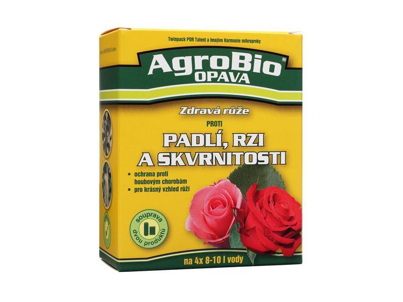 Přípravek proti padlí, rzi a skvrnitosti AgroBio Zdravá růže