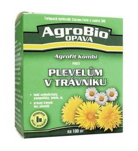 Přípravek proti plevelům v trávníku AgroBio Agrofit na 100m2