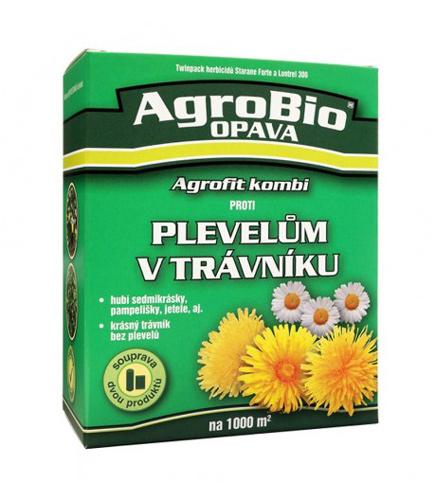 Přípravek proti plevelům v trávníku AgroBio Agrofit na 1000m2