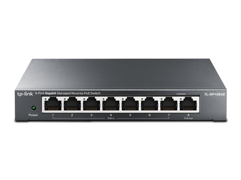 Switch TP-LINK TL-RP108GE