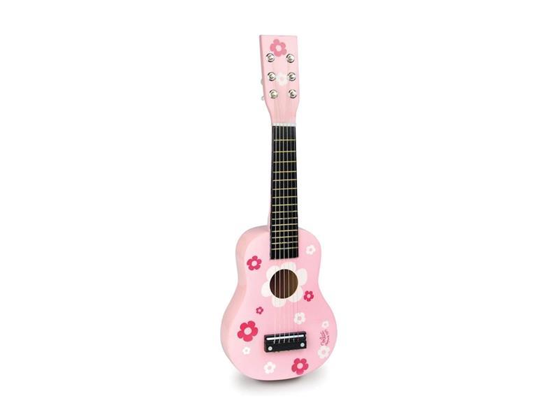 Dětská kytara VILAC Pink dřevěná