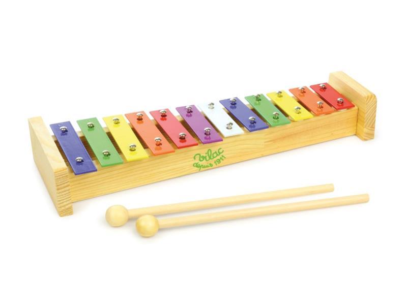 Dětský xylofon VILAC dřevěný