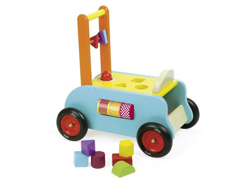 Dětské multifunkční vozítko VILAC dřevěné
