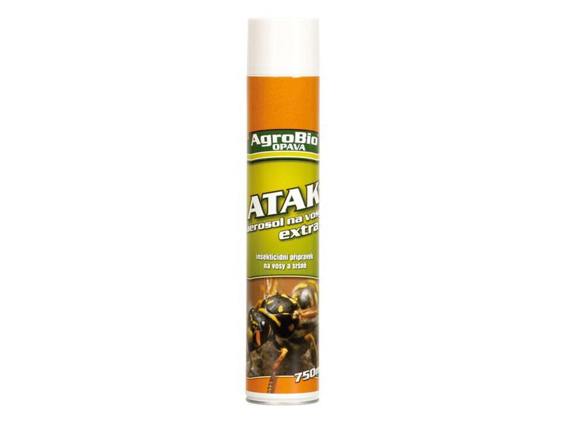 Sprej proti vosám AgroBio Atak Extra 750ml